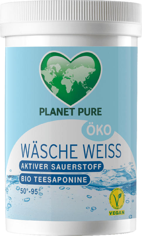 Planet Pure ÖKO Wäsche Weiss