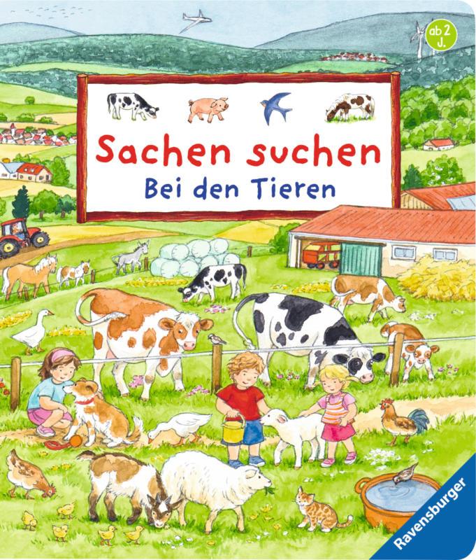 Ravensburger Sachen suchen - Bei den Tieren