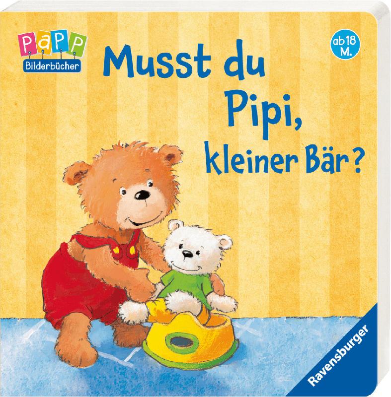 Ravensburger Musst du Pipi, kleiner Bär?