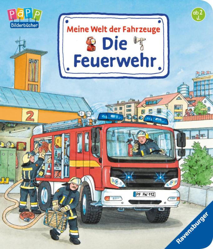 Ravensburger Meine Welt der Fahrzeuge: Die Feuerwehr