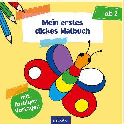 Ars Edition Mein erstes dickes Malbuch