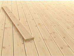 Terrassendielen Douglasie in geriffelt/glatt 2,1 cm x 12 cm x 200 cm