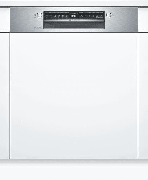 Teilintegrierter Geschirrspüler, 60 cm, Edelstahl SMI4HAS48E