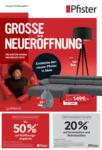 Pfister Grosse Neueröffnung Mels - bis 27.12.2020