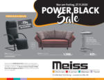 Möbel Meiss Möbel Meiss - Power Black Sale - bis 27.11.2020