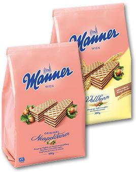 Manner Maxi diverse Sorten 300-400G
