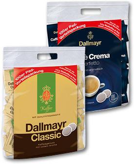 Dallmayr Kaffepads 100er