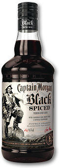 Captain Morgan Black Spiced 40% 1L