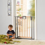 BabyOne Türschutzgitter Easylock Wood Plus 80,5 - 88,5 cm - bis 06.12.2020