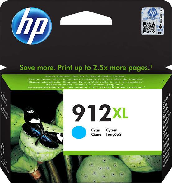 HP 912XL Tintenpatrone Cyan (3YL81AE)