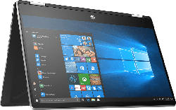 HP Pavilion x360 14-dh1301ng, Convertible mit 14 Zoll Display, Core™ i3 Prozessor, 8 GB RAM, 512 GB SSD, Intel® UHD Graphics, Silber