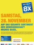 Migros Basel 8x Cumulus - bis 28.11.2020