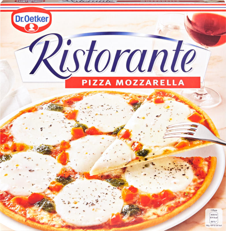 Dr. Oetker Pizza Ristorante, Mozzarella, 335 g