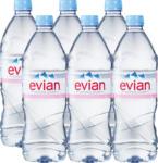 Denner Evian Mineralwasser, ohne Kohlensäure, 6 x 1 Liter - bis 30.11.2020