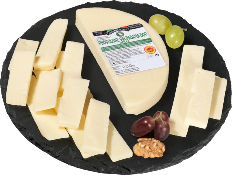 Provolone Valpadana dolce DOP, mi-dur, 200 g