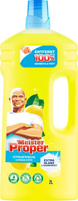 Nettoyant multiusages Meister Proper, Citron d'été, 2 litres
