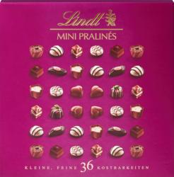 Mini Pralinés Lindt, 36 pièces, 180 g