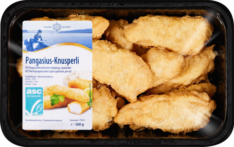 Bocconcini di pangasio Gourmet Fisheries, Vietnam, 500 g