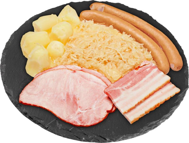 Berner Platte , ca. 640 g, per 100 g