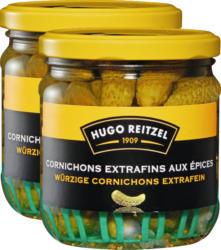 Hugo Reitzel Cornichons , extrafein, 2 x 200 g