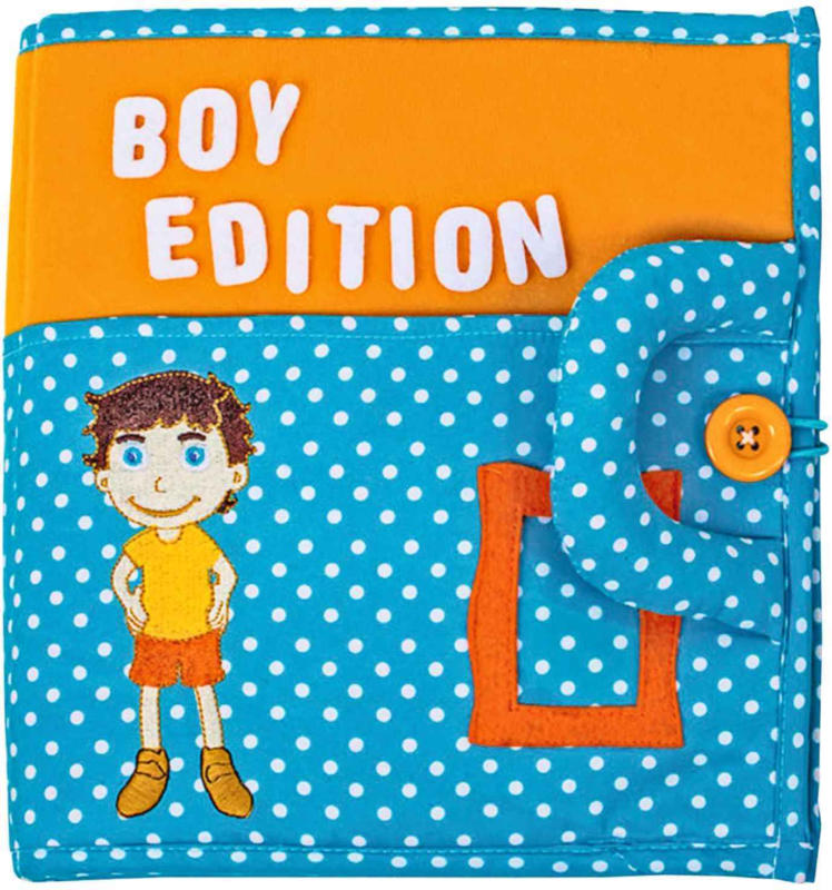 Quiet Book Stoffbuch Boy Edition -
