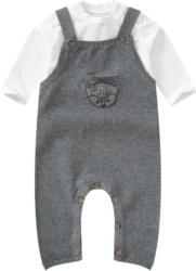 Newborn Strickoverall und Langarmshirt im Set