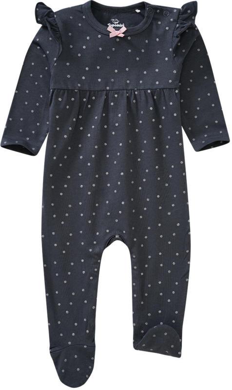 Newborn Schlafanzug mit Punkte-Allover (Nur online)