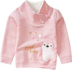 Baby Sweatshirt mit Eulen-Applikation