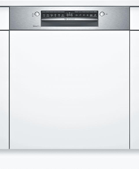 Teilintegrierter Geschirrspüler, 60 cm, Edelstahl SMI4HCS60E