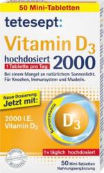 Tetesept Vitamin D3 2000 hochdosiert