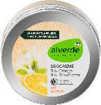 dm-drogerie markt alverde NATURKOSMETIK Deocreme Bio-Orange Bio-Sheabutter