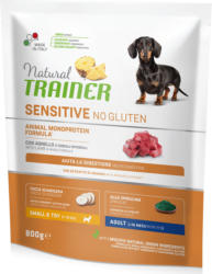 Trainer Hundefutter Sensitive No Gluten Small & Toy Adult Lamm 800g