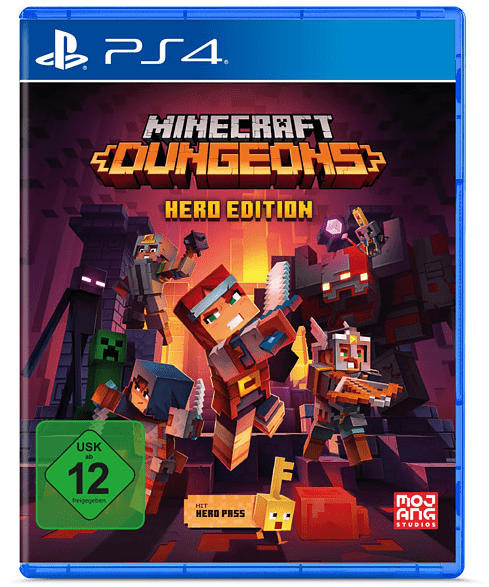 Minecraft Dungeons (Hero Edition) [PlayStation 4]