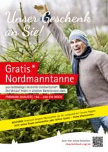 Gratis Nordmanntanne*