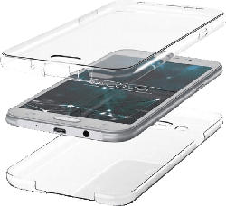 AGM 30307 Full Cover Xiaomi Redmi Note 8T Thermoplastisches Polyurethan Transparent