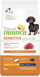 Trainer Hundefutter Sensitive No Gluten Small&Toy Adult Lamm 2kg