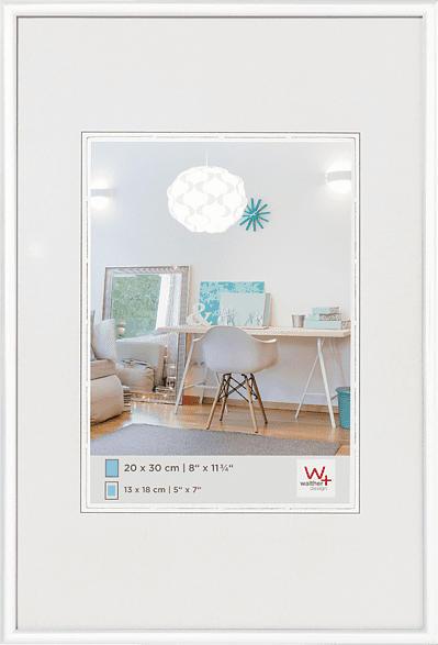 WALTHER New Lifestyle (10x15 cm, Weiß)