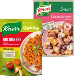 Knorr Spaghetteria oder Sweety