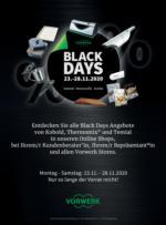 Black Days bei Vorwerk!
