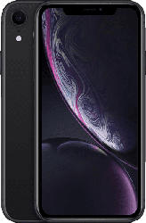 APPLE iPhone XR 64 GB Schwarz Dual SIM