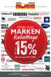 Möbel Buss Einrichtungshaus GmbH & Co. KG Marken Rabatttage - bis 30.11.2020