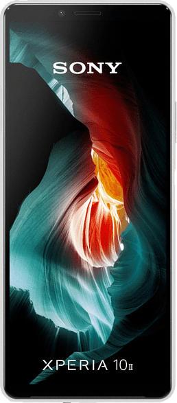 SONY Xperia 10 II 21:9 Display 128 GB Weiß Dual SIM