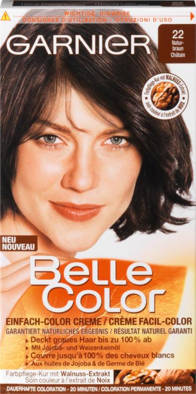 Coloration Belle Color Garnier, 22 Châtain, 1 emballage