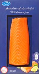Filetto di salmone Laschinger, affumicato, Norvegia, 150 g