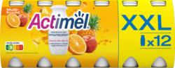 Danone Actimel Joghurtdrink, Multifrucht, probiotisch, 12 x 100 g