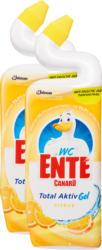 Gel Total Aktiv Canard-WC, Agrumes, 2 x 750 ml