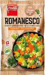 Findus Schweizer Gemüsemischung Romanesco , ungewürzt, 600 g