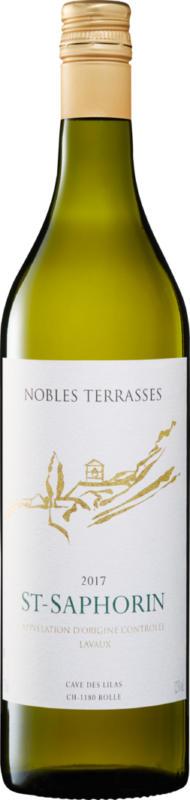 Nobles Terrasses St-Saphorin AOC Lavaux, 2019/2020, Vaud, Suisse, 70 cl