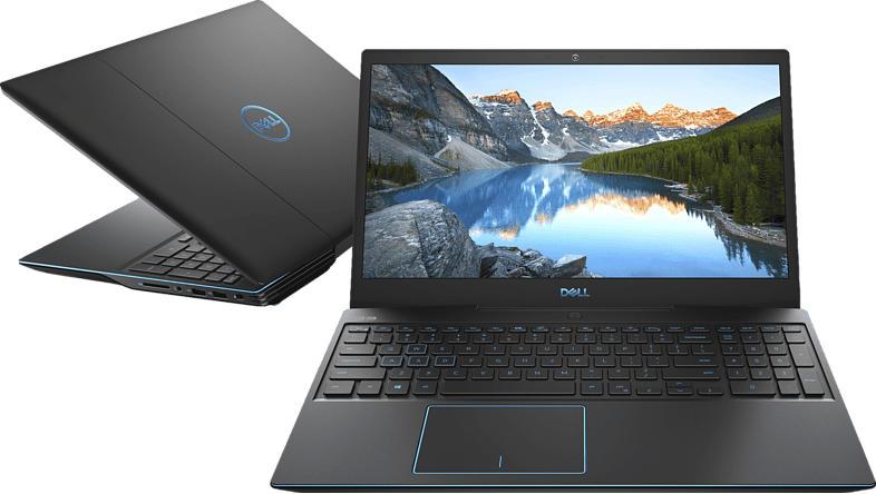 DELL G3 3500, Gaming Notebook mit 15.6 Zoll Display, Core™ i5 Prozessor, 8 GB RAM, 512 GB SSD, GeForce® GTX 1650, Schwarz