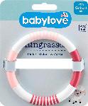 dm-drogerie markt babylove Ringrassel rosa